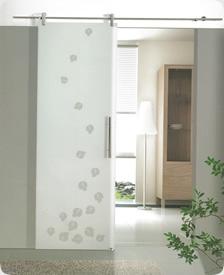 Puertas de interior cristal materiales de construcci n - Cristales puertas interiores ...